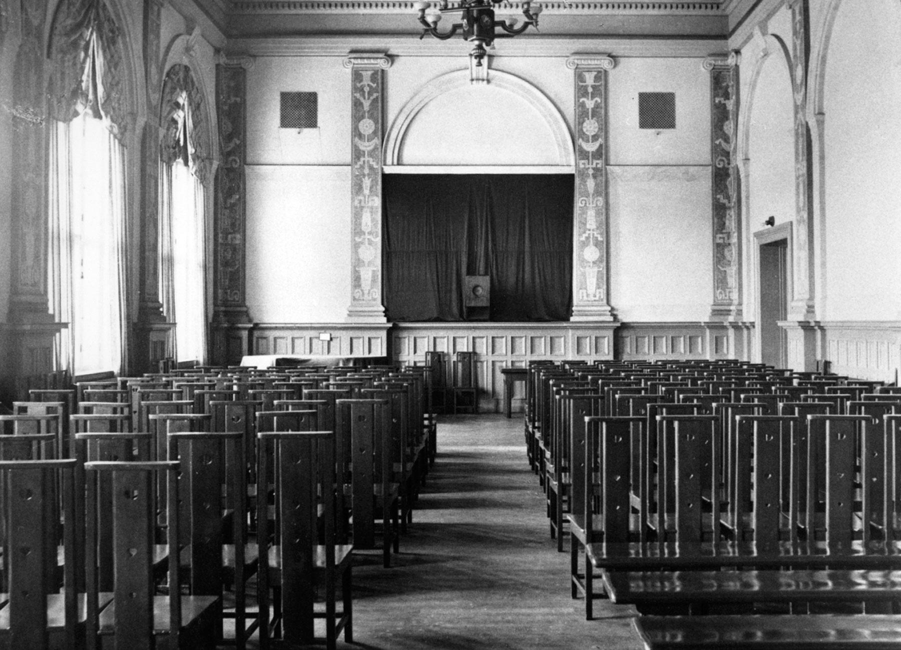 Festsalen år 1936