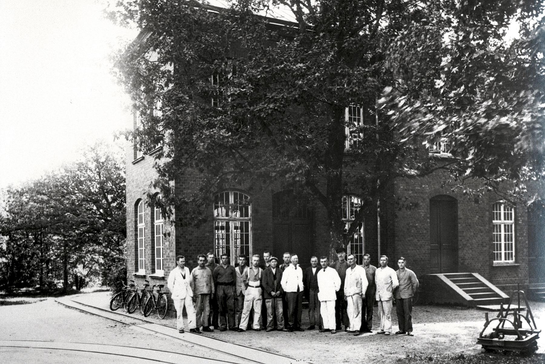 Smedjan år 1936