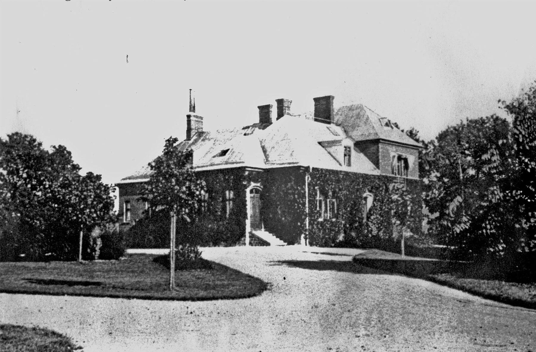 Villa Hehrne år 1907