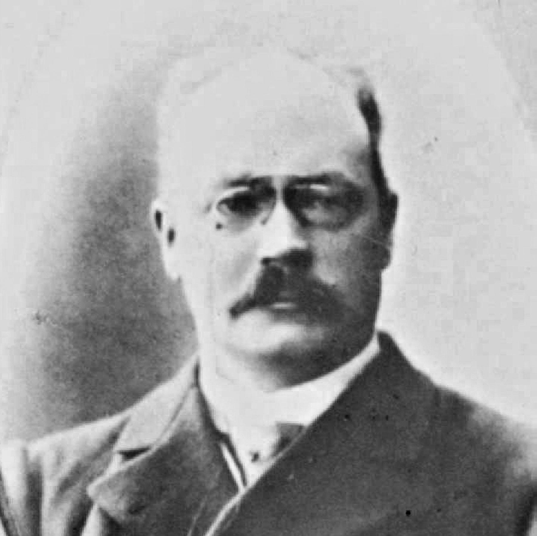 Dr Sellberg, sjukhusets förste överläkare
